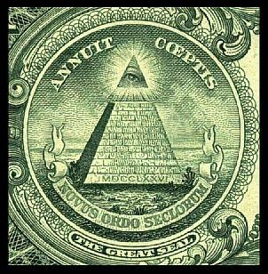 从一美元纸币背面的金字塔上帝之眼看待资本运作